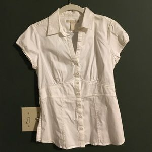 Banana Republic white shirt