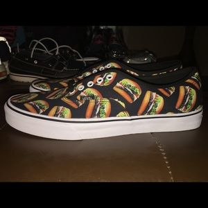 1c80d27f423f Vans Shoes - VANS late night HAMBURGER cheeseburger low top
