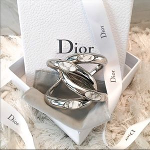 """💯 Auth Dior """"DIOROSPHERE"""" cuff bracelet"""