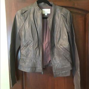 Hinge leather jacket!
