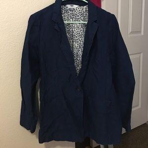 New never worn blue blazer
