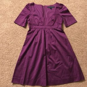 French Connection magenta/purple dress