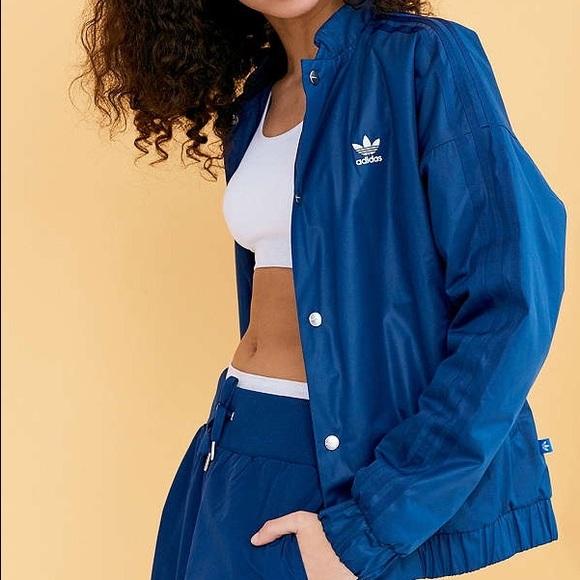 Adidas bomber jacket Army green Size medium Worn a Depop