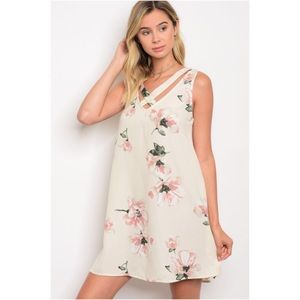 Dresses & Skirts - Floral Tunic Dress