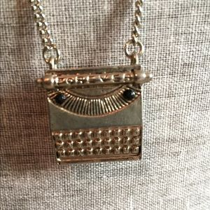 Forever 21 Jewelry - Typewriter Necklace from Forever 21