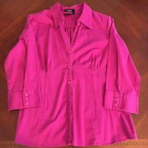 Tops - Hot pink/Fuchsia Blouse