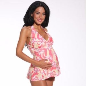 Maternity Tankini Bathing, Swim Suit ~ Size S & M