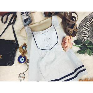 Anthropologie Odille Nautical Sailor Blouse 8