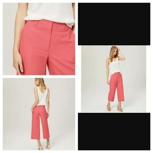 LOFT Wide Legged Cropped Pants