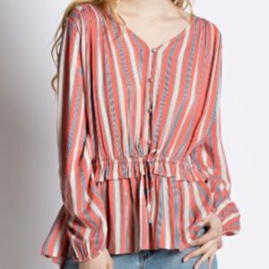 Coral Mix Top w review