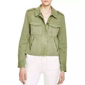 ListSanctuary Green Twill Military Jacket! NEW