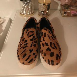 Steve Madden Leopard Shoes Size 6