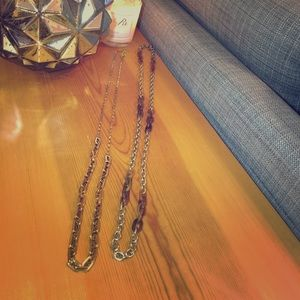 J. Crew and Ann Taylor necklaces