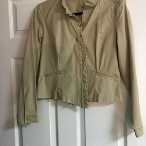 Cute Cropped Jackets Size Medium