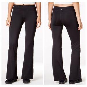 Ideology Black Flare/Bootcut Smooth Yoga Pants M