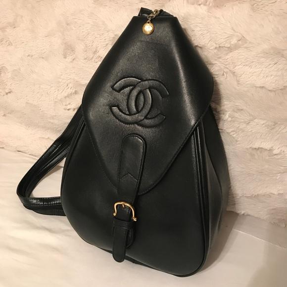 72494f2767e7 CHANEL Handbags - Vintage Chanel Sling Backpack