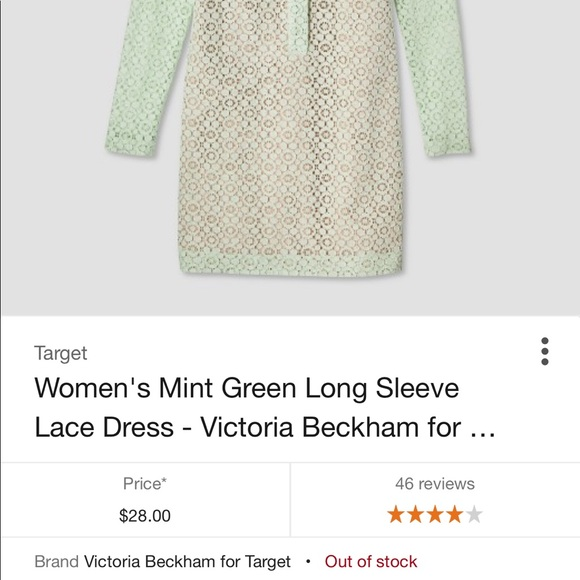 Victoria Beckham for Target Dresses - NWT Victoria Beckham Target Collection Lace dress