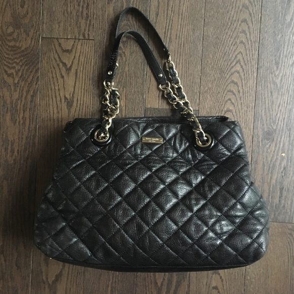 Kate Spade Bags Black Quilted Bag Gold Coast Maryanne Poshmark