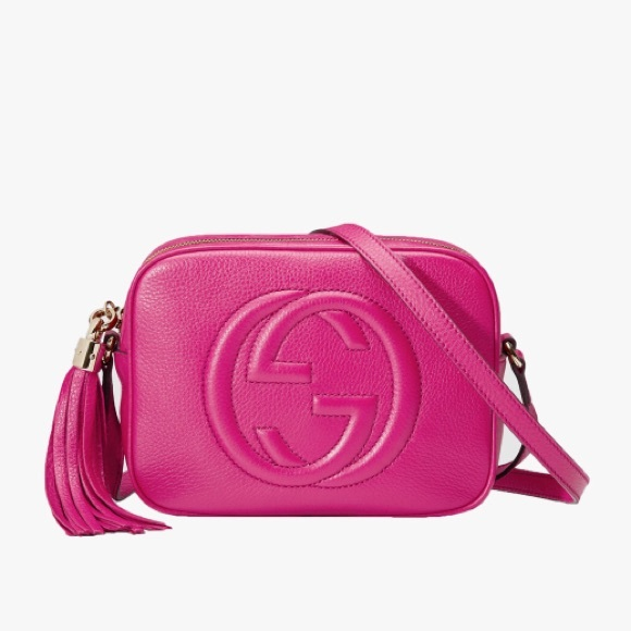 de279cc32aafac Gucci Bags | Soho Disco Crossbody Bag Fuchsia Leather | Poshmark