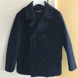 Other - Navy Double Breasted Peacoat