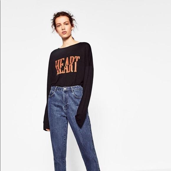 1df0dffe Zara Mom jeans. M_5988f5b72ba50acef50dbf63