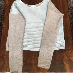 GentleFawn cropped sweater size small