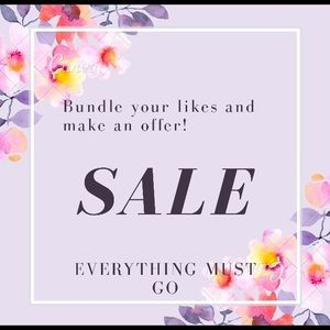 Accessories - Get great deals. Clearing out sale!