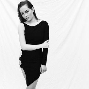 Black bondage dress from Style Mafia