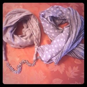 BUNDLE OF TWO SCARFS!!