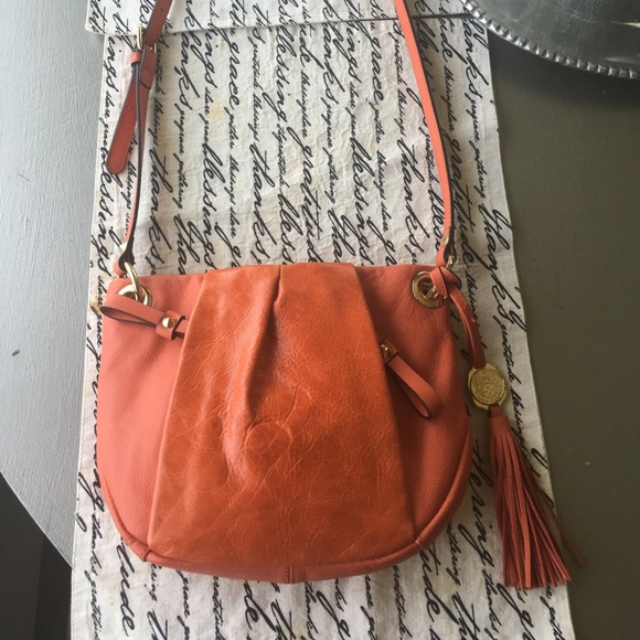 Vince Camuto Handbags - Vince Camuto Orange Crossbody