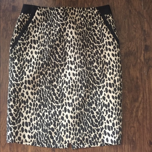 Women's Clothing The Limided Leopard Print Pencil Skirt Sz 4