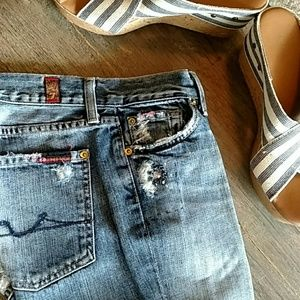 7 For All Mankind The Great China Wall Jeans