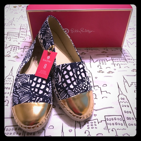 06eac757e2bdd0 Lilly Pulitzer Shoes | Target Nib Espadrilles Size 8 | Poshmark