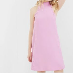 Ted Baker Torrii Scalloped Shift Dress 0 US 00