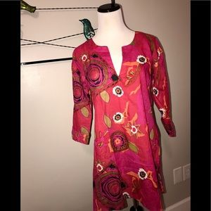 Tops - TUNIC. COVER UP. EXCELLENT CONDITION SMALL