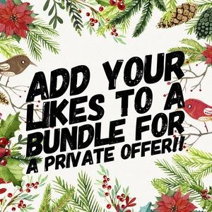 I'll make you a private offer!