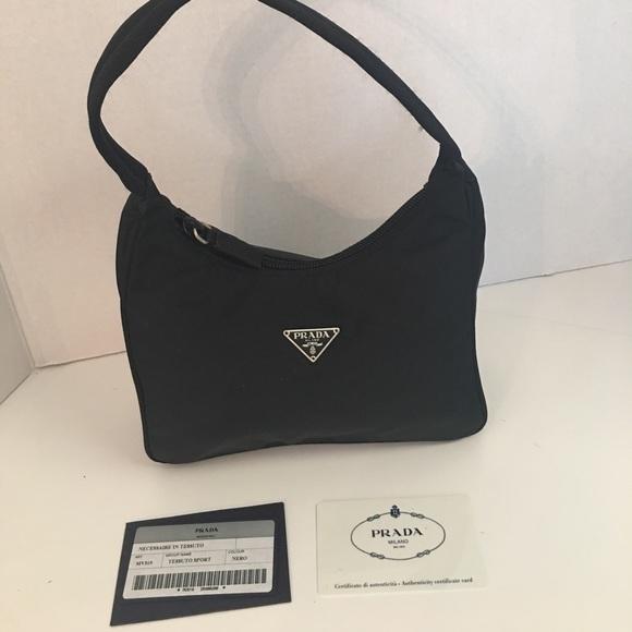 6c8a9182d813 Prada Bags | Tessuto Sport Black Nylon Mini Bag | Poshmark