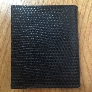 New men's crocodile wallet