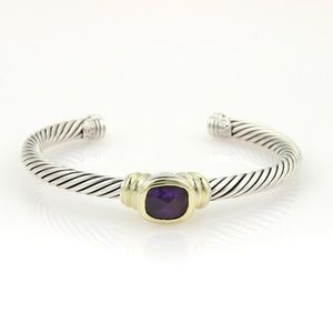 David Yurman Noblesse Bracelet Amethyst