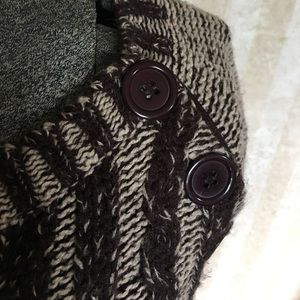 i'm in love with derek Sweaters - Brown and tan sweater dress.