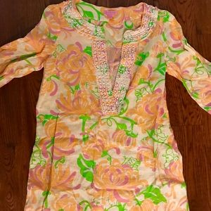Authentic Lilly Pulitzer shirt/or/coverup!
