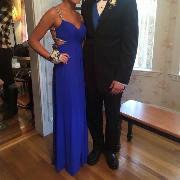 Jovani Dresses & Skirts - royal blue prom dress size 2, worn once