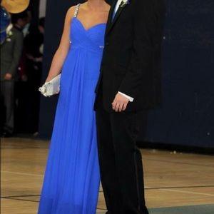 Jovani Dresses - royal blue prom dress size 2, worn once