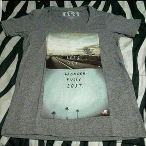 NWT Glamour Kills top tee shirt