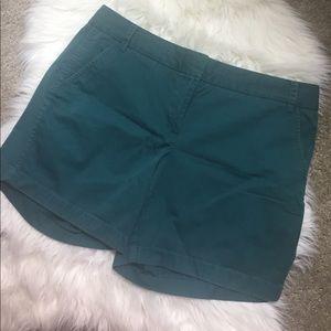 "j crew 7"" chino shorts size 14"
