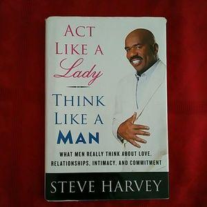 Steve harvey think like a man book