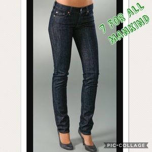 7 For All Mankind Roxanne Slim Fit Jeans