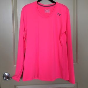 Hot Pink Under Armor Long Sleeve Top