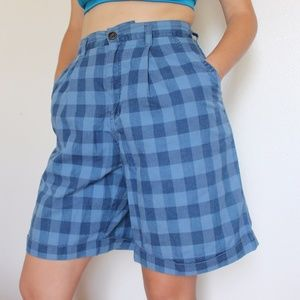 Vintage Plaid shorts