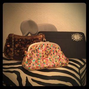 Handbags - Set of three evening bags